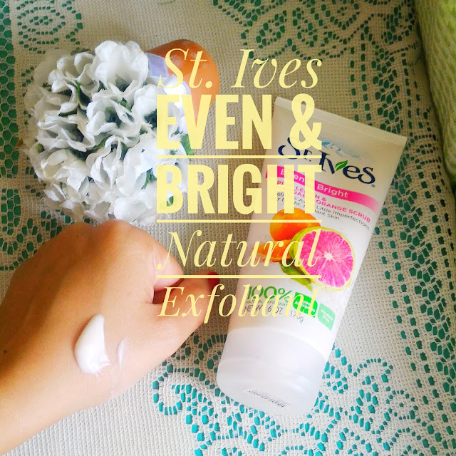 St. Ives Even & Bright Natural Exfoliant Review
