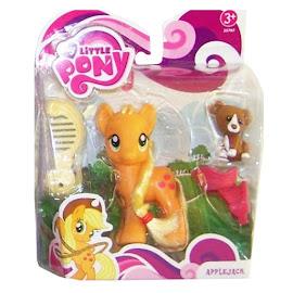 MLP Single Wave 1 Applejack Brushable Pony
