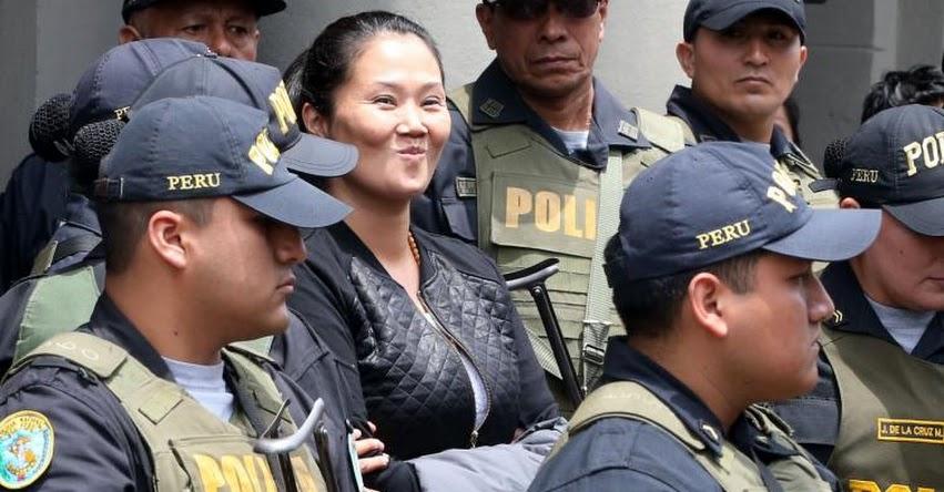 KEIKO FUJIMORI: Poder Judicial evaluará hoy apelación a prisión de lideresa de Fuerza Popular