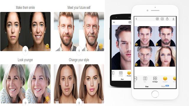 تطبيق FaceApp المنتشر هذه الأيام يوفر لك أمكانية تحويل صورك لوجه العجوز .