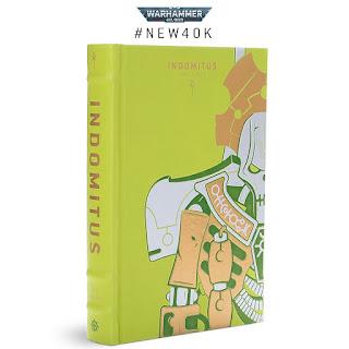 novela Indomitus edición Necrones