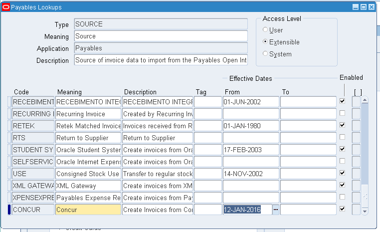 Applications and Integration Blog: Create New Source for Oracle