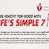 Be Healthy For Good with Life's Simple 7 #infographic
