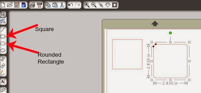 Draw, perfect, circle, square, straight line, Silhouette Studio, draw a square, draw a rounded rectangle