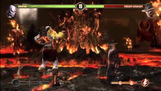 FightVG: MK9: Kratos 73-percent midscreen combo by Skynet516 (Video)