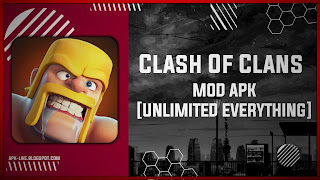 Clash Of Clans MOD APK [UNLIMITED EVERYTHING - PRIVATE SERVER] Latest (V14.0.2)