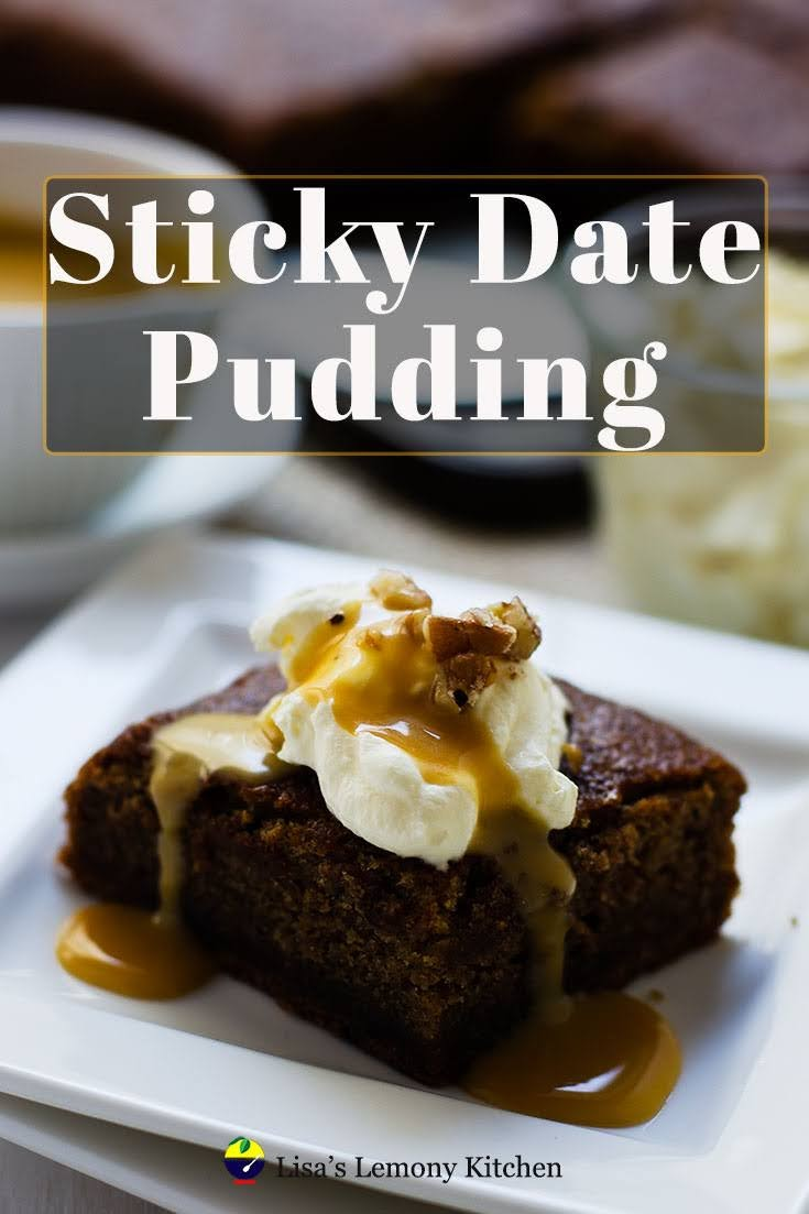 Sticky Date pudding with delicious toffee sauce