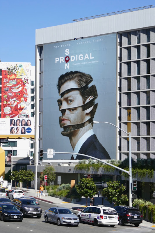 Giant Prodigal Son series launch billboard Sunset Strip