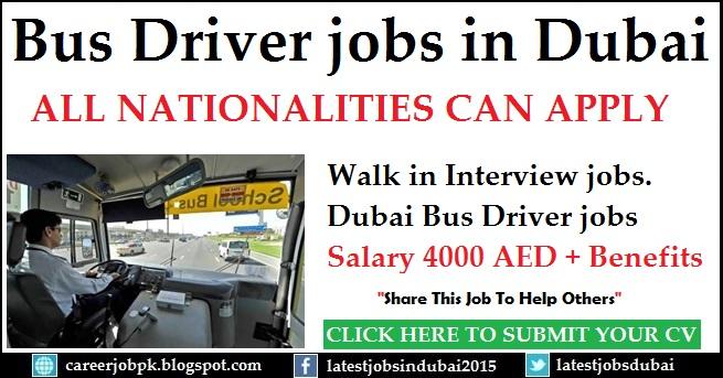 Bus Driver jobs in Dubai