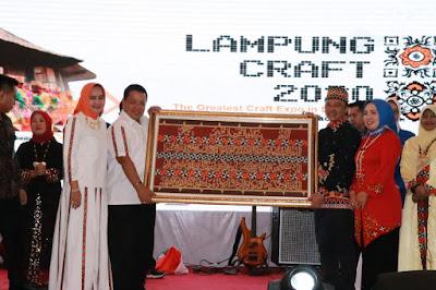 Lampung Craft 2020 Ajang Promosi dan Tingkatkan Daya Saing