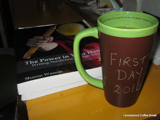 Homeschool Weekly - First Week of School Edition on Homeschool Coffee Break @ kympossibleblog.blogspot.com