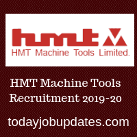 HMT Machine Tools Recruitment 2019-20