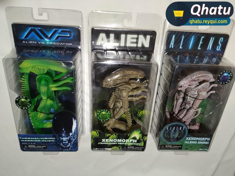 (Bs. 145) Figuras de Aliens: diferentes modelos