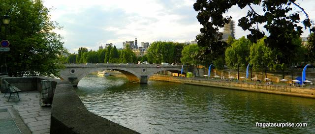 Paris, margens do Sena, Quai de la Tournelle