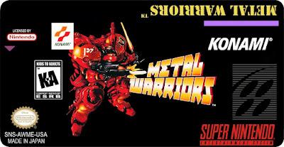 Rom de Metal Warrios - SNES em Português - Download