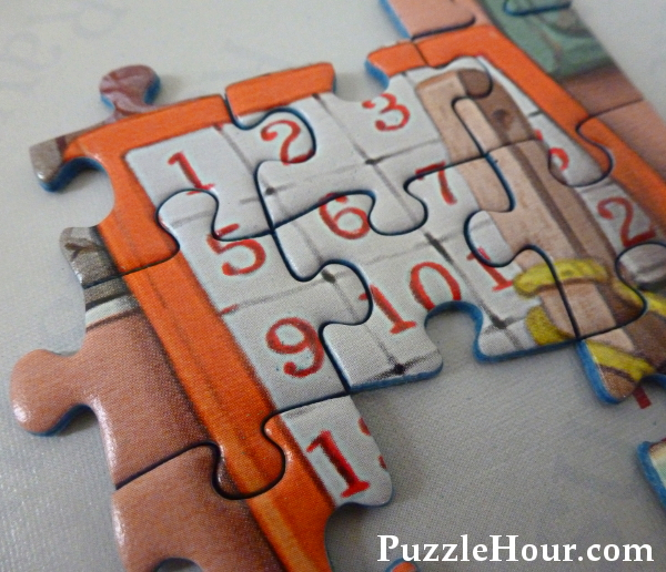 Jigsaw puzzle pieces loose fitting large gaps Ravensburger