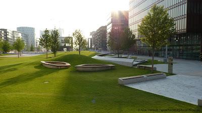 Sandtorpark, Hamburg, HafenCity, Grünanlagen