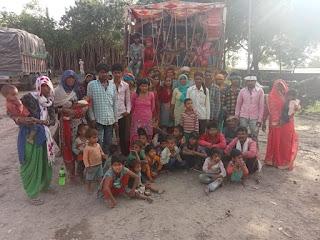 हरियाणा से बांदा के बंधुआ मजदूरों को मोर्चा ने कराया आजाद  | #NayaSaberaNetwork