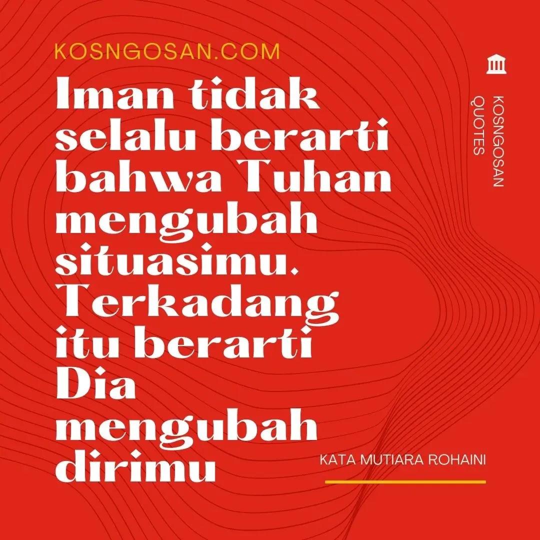 kata rohani