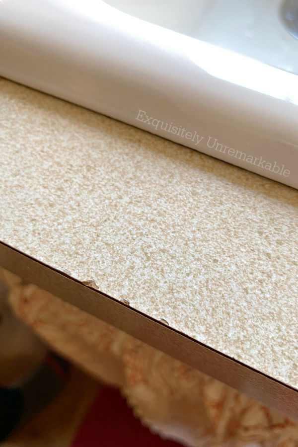Chipped Laminate countertop