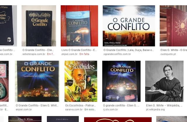 historia do livro grande conflito