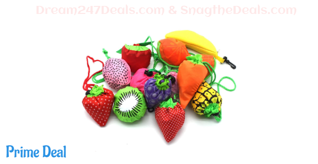 50% Off 10PCS Fruits Reusable Grocery Shopping
