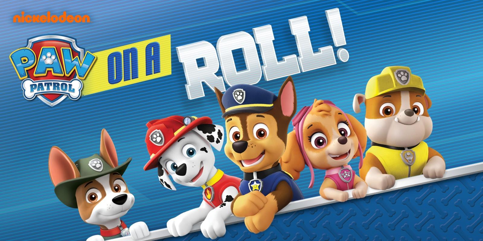 Download Descargar Nickelodeon Paw Patrol On A Roll Switch [NSP