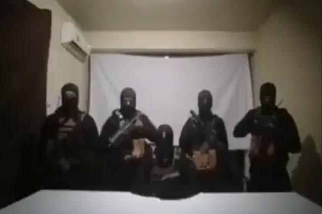 Video: Puño de Sicarios encapuchados comunican y advierten amenaza para El Olivas y todos los policías que protegen a La Línea del Cártel de Juárez