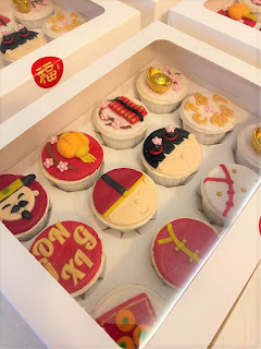 The Cakery keluarkan CNY Cupcakes & kini Berada di Pulau Pinang