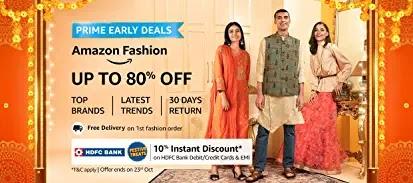 Amazon Great Indian Festival सेल शुरू, Best Deals व Offers के साथ करें मनपसंद खरीददारी
