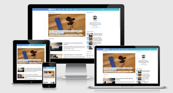 VioMagz Tеmрlаtе For Blogger Full Version Free Download - Seo & Responsive Blogger Template 2019