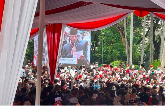Deklarasi KAMI, Gatot Nurmantyo : Siapa Yang Mengganggu Berhadapan Dengan Saya
