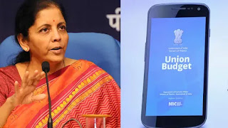 Finance Minister launches Union Budget Mobile App