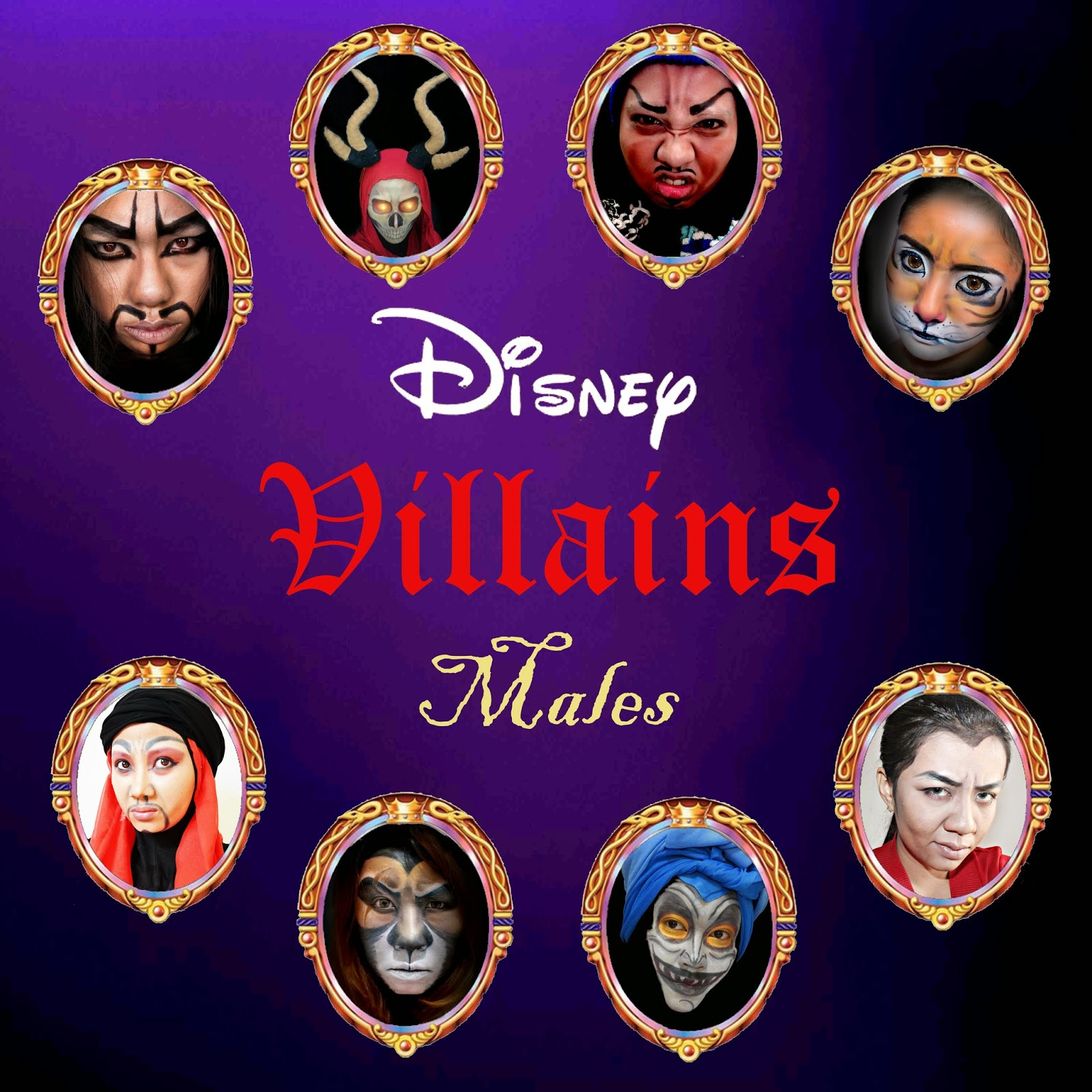 Collaboration of Disney Villains - Males