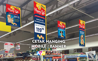 Tempat Cetak Hanging Mobile Banner Gantung Cepat di Tanah Abang, Jakarta Pusat