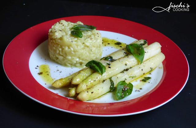fischiscooking, weißer spargel, risotto
