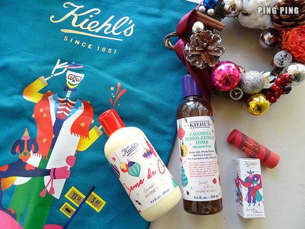 別具心思的聖誕禮物~♥Kiehl's x Janine Rewell節日限量版系列