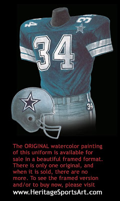 Dallas Cowboys 1984 uniform