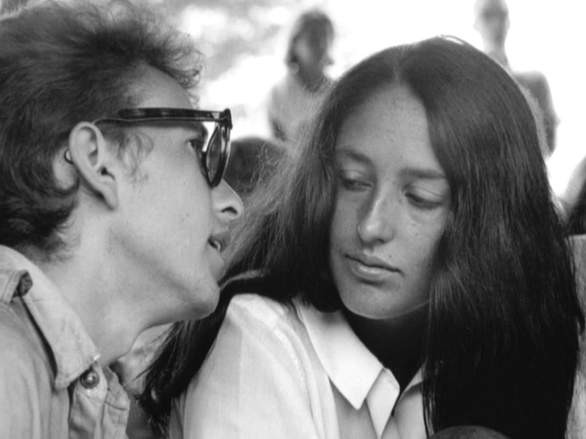 joan baez and bob dylan relationship