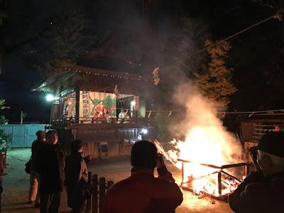 久伊豆神社おかがり祭里神楽(平成28年11月28日)