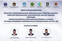 Ini Keputusan Bersama Empat Menteri Terkait Pembelajaran Tatap Muka