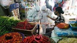 Gugus Tugas Kalsel Tracing Pandemi Covid-19 di Pasar Tradisional Banjarmasin