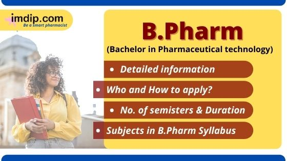 Bachelor in Pharmacy- Course Information- Scope
