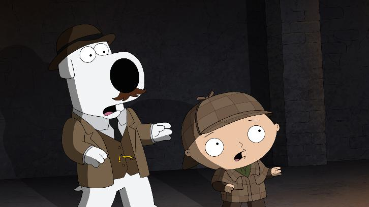 Family Guy - Episode 16.13 - V Is For Mystery - Promotional Photos + Press Release