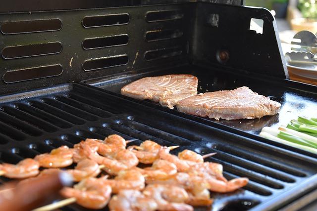 bbq meals, bbq dinner, grilled shrimp, summer bbq