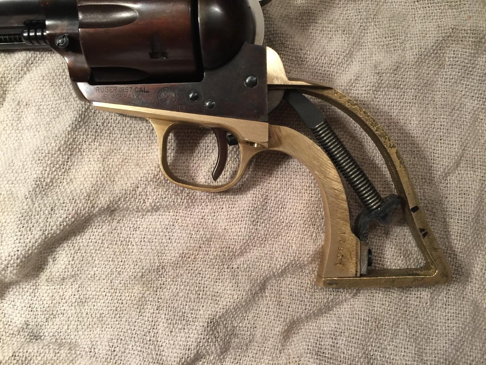 TINCANBANDIT's Gunsmithing: Ruger Old Model Blackhawk Project part 6