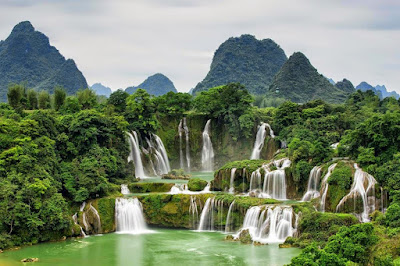 Muong Hoa waterfalls