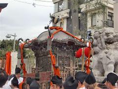 神幸祭(八乙女の舞)