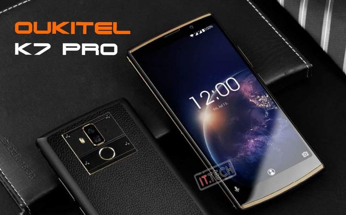 Smartphone Oukitel K7 Pro Baterai 10000 mAh (youtube.com)