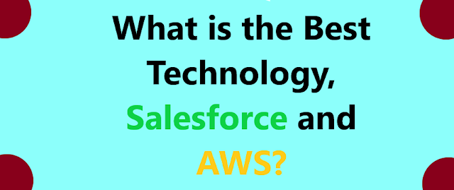 What is the Best Technology, Salesforce and AWS?